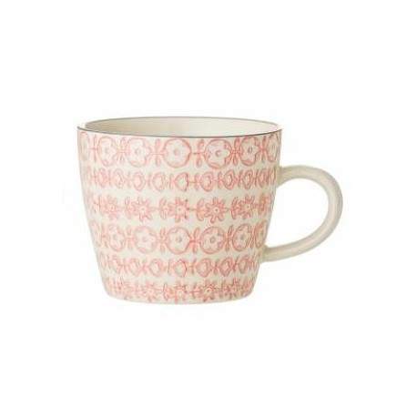 Mug Cecile motifs fleurs roses