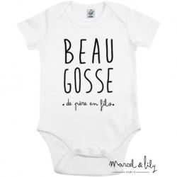 Body Beau Gosse 3/6 mois