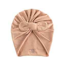 Knot beanie Perfect nude 6/12 mois