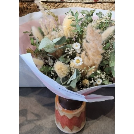 Bouquet séché Naturel - Taille L