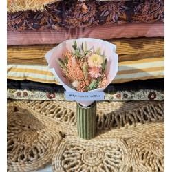 Bouquet séché Corail - Taille XS