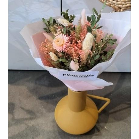 Bouquet séché Corail - Taille S