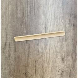 Présentoir en bois naturel