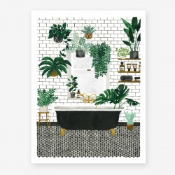 Affiche Small Bathroom