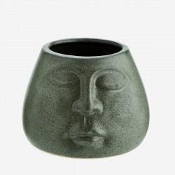 Petit pot Budha vert