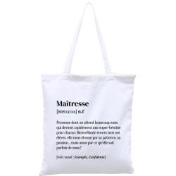 Tote-bag définition Maîtresse