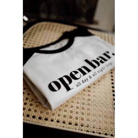 T-shirt d'allaitement Zip Open bar - Taille L