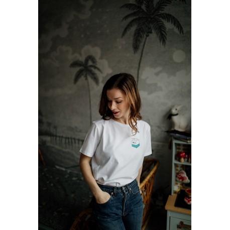 T-shirt d'allaitement Zip Take away - T-S