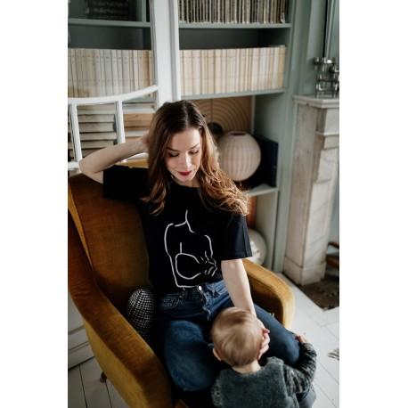 T-shirt d'allaitement Zip Motherhood - Taille S