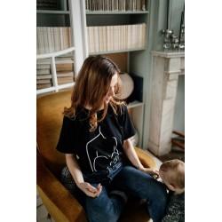 T-shirt d'allaitement Zip Motherhood - Taille M