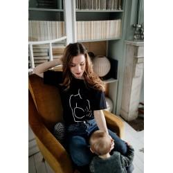 T-shirt d'allaitement Zip Motherhood - Taille L