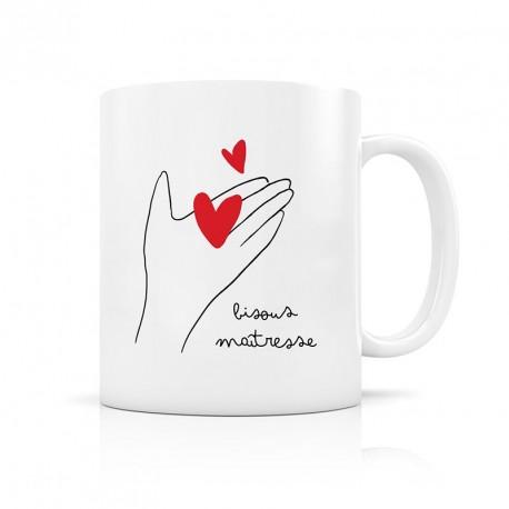 Mug Bisous maîtresse