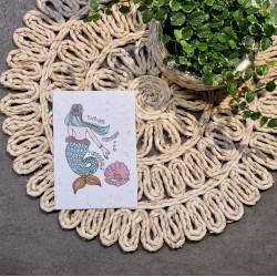 Carte à planter Marraine fantastique