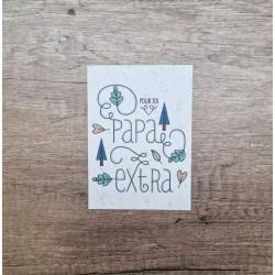 Carte à planter Papa extra