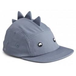Casquette Dino blue wave - 1/2 ans