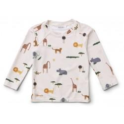 Tee-shirt de bain anti-UV Safari - 1/3 mois