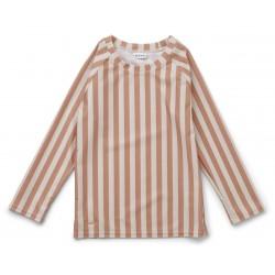 Tee-shirt de bain anti-UV Tuscany rose - 3/9 mois