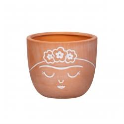 Pot Frida terracotta pour mini