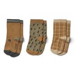 Lot de chaussettes Mr bear par 3 - 17/18 0/6mois