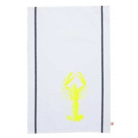 Torchon Homard fluo jaune