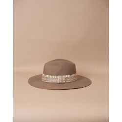 Chapeau Victor Taupe S/M