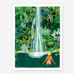 Affiche small Waterfall