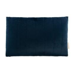 Coussin Akamba velours night blue