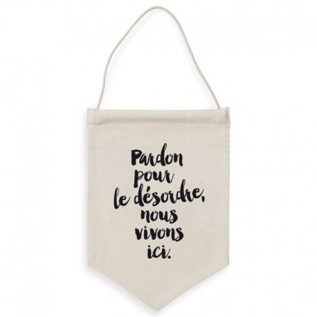 """Bannière """"Désordre"""""""