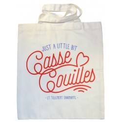 "Tote-bag ""Casse couilles"""