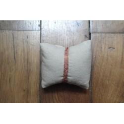 Bracelet/collier rose mat