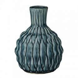 Vase rond bleu-vert