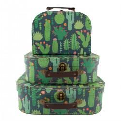 Valise Cactus - moyen format