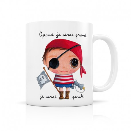 Mug Je serai un pirate