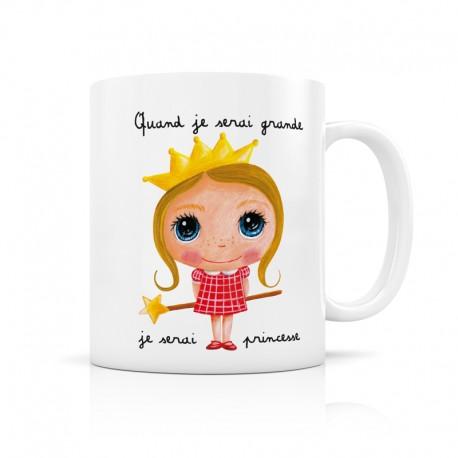 Mug Je serai une princesse