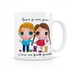 Mug Une famille formidable