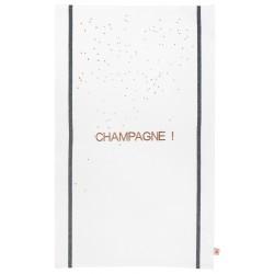 Torchon Champagne cuivré