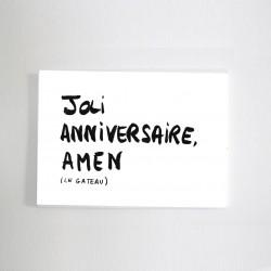 Carte Joli anniversaire...
