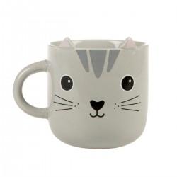 Mug Chat gris