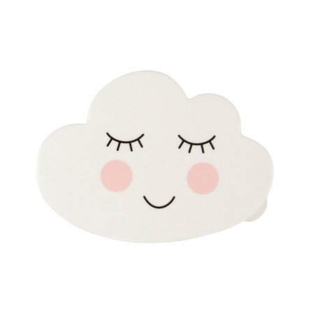 Boîte en plastique nuage endormi