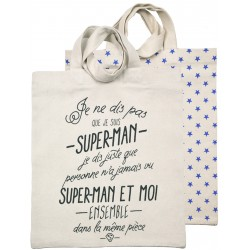 Tote-bag Superman