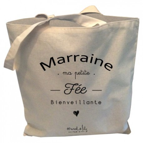 Tote-bag Marraine la fée