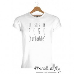 T-shirt Père turbable - M