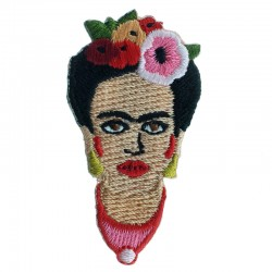 Badge brodé Frida