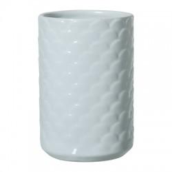 Vase pétales bleus