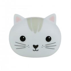 Tête de chat lumineuse