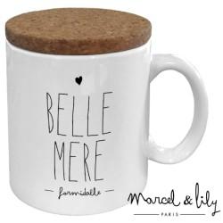 Mug avec couvercle Belle-mère