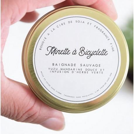 Bougie Baignade sauvage Or 100ml