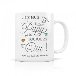 Mug Papy dit oui