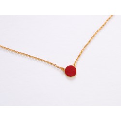 Collier Lili - Rouge