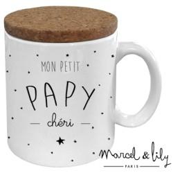 Mug avec couvercle Papy chéri